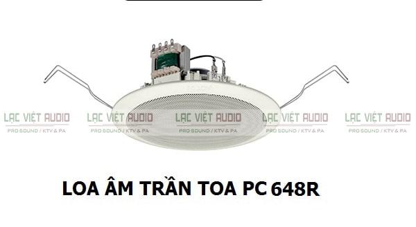 Loa âm trần PC 648R được ứng dụng rộng rãi trong hệ thống âm thanh thông báo