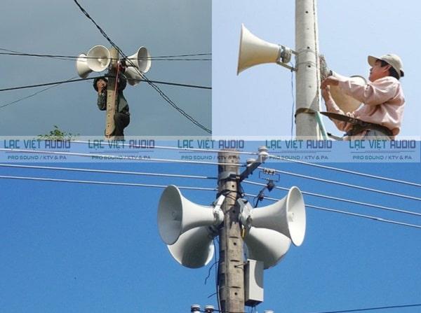 Loa phát thanh DB được sử dụng phổ biến trong hệ thống âm thanh thông báo công cộng