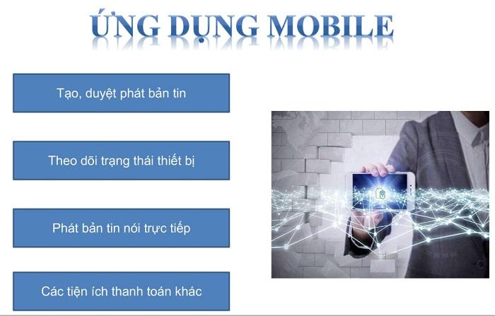 Thiết bị có đầy đủ tính năng được ứng dụng trên mobile