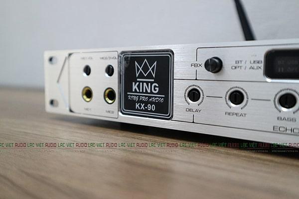 Vang cơ KING cho khả năng kết nối thông minh đa dạng và xử lý âm thanh hiệu quả