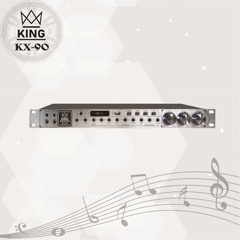 Vang cơ karaoke KX 90 nổi tiếng của thương hiệu KING