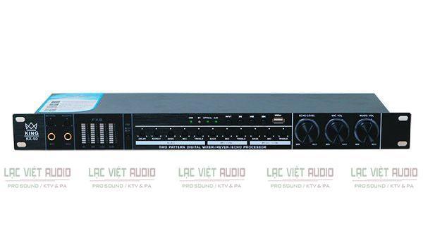Vang cơ KING chính hãng được ứng dụng phổ biến cho các hệ thống âm thanh và karaoke chuyên nghiệp