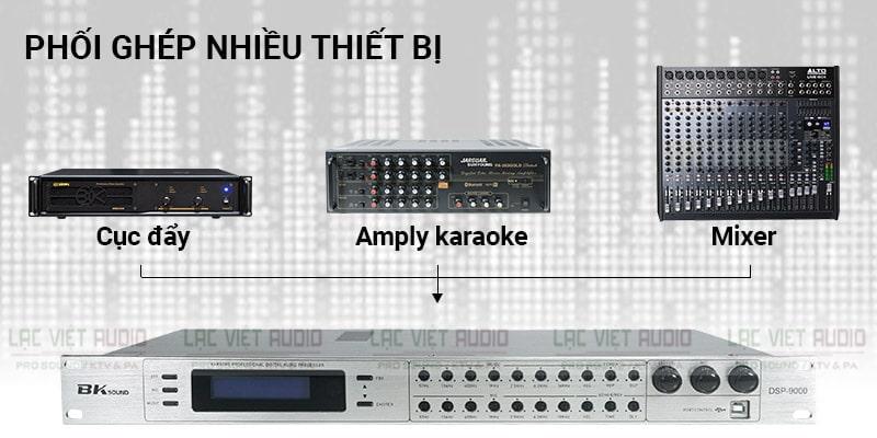 Vang số BKSound DSP 9000 dễ phối ghép