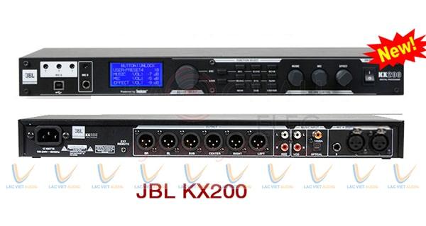 Vang số JBL KX200 có chức năng chống hú rít tuyệt vời