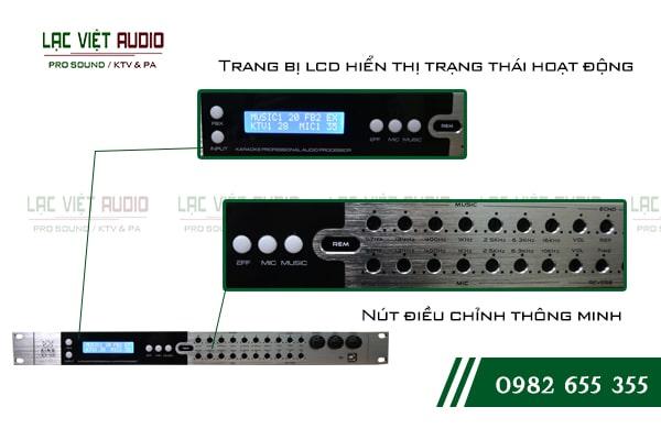 Các đặc điểm nổi bật về chất lượng âm thanh của sản phẩmVang số lai cơ King KX 100