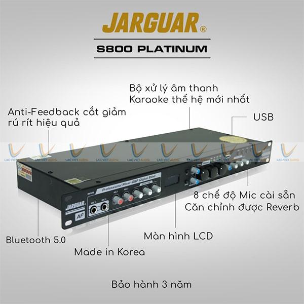 Vang số Hàn Quốc Jarguar S800: 6.000.000 VNĐ