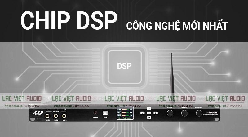 Chip DSP chất lượng, cho khả năng xử lý âm thanh vượt trội