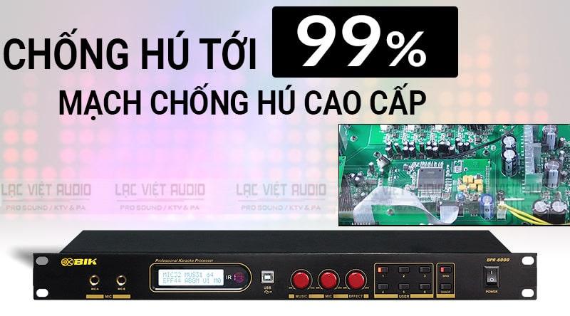 Vang số BIK BPR 6000 chống hú cao cấp thích hợp cho nhiều dàn âm thanh