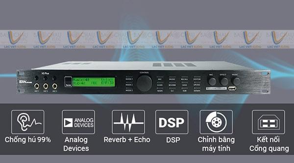 Vang số chất lượng với nhiều tính năng xử lý âm thanh hiệu quả