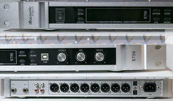 Thiết kế nổi bật và tiện dụng của DB S750 V2