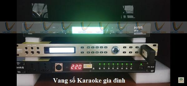 Vang số karaoke gia đình