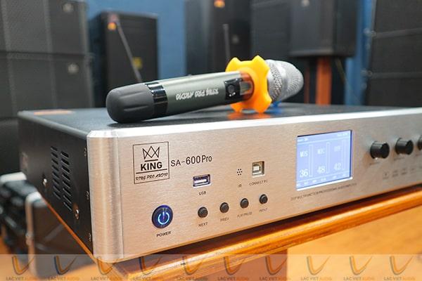 Vang số liền công suất SA-600 cho đầu ra chất âm vượt trội