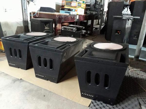 Vỏ thùng loa Array đơn bass 40 chất lượng