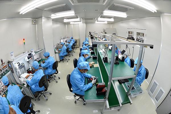 Xưởng sản xuất linh kiện điện tử