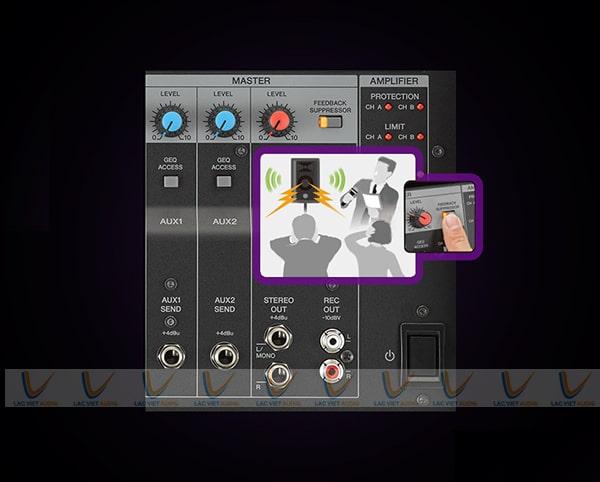 Nguồn điện Yamaha EMX7 trực tiếp dễ dàng khởi động