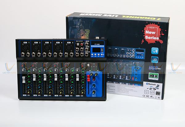 Bàn Mixer Yamaha mini F7 USB