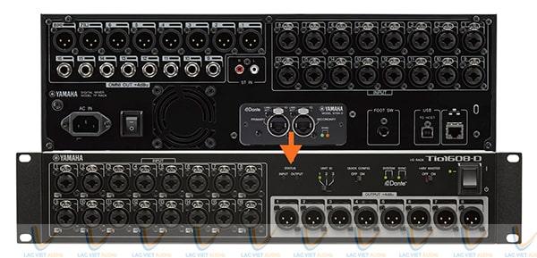 Hệ thống line của Yamaha TF-RACK