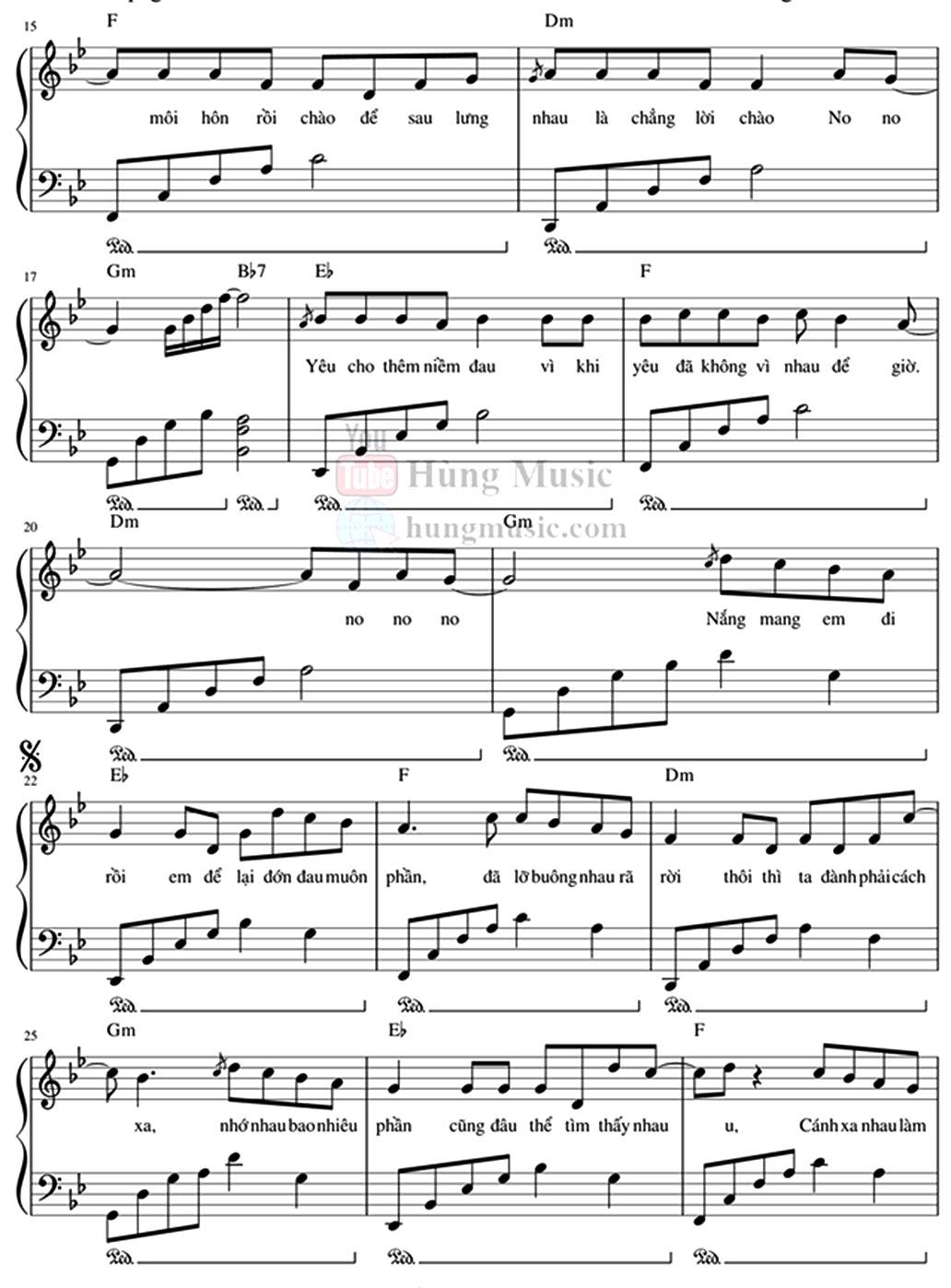 Sheet Piano Yêu từ đâu mà ra Lil ZPOET