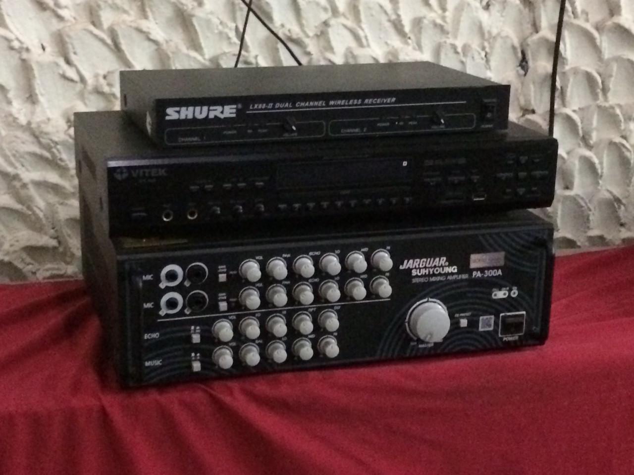 Hệ thống âm thanh tại quán