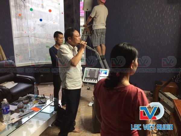 Bộ dàn âm thanh chất lượng cao được Lạc Việt audio lắp đặt.